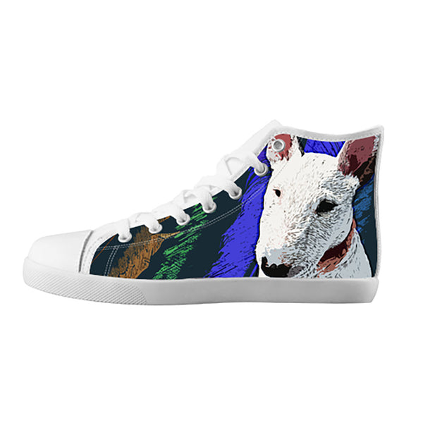 Bull Terrier Shoes & Sneakers - Custom Bull Terrier Canvas Shoes - TeeAmazing - 5