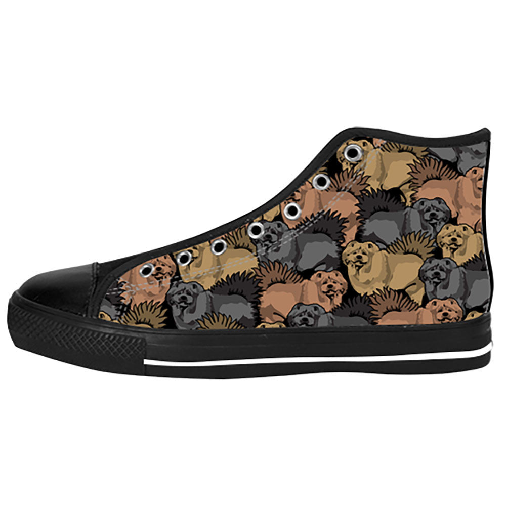 Chow Chow Shoes & Sneakers - Custom Chow Chow Canvas Shoes - TeeAmazing