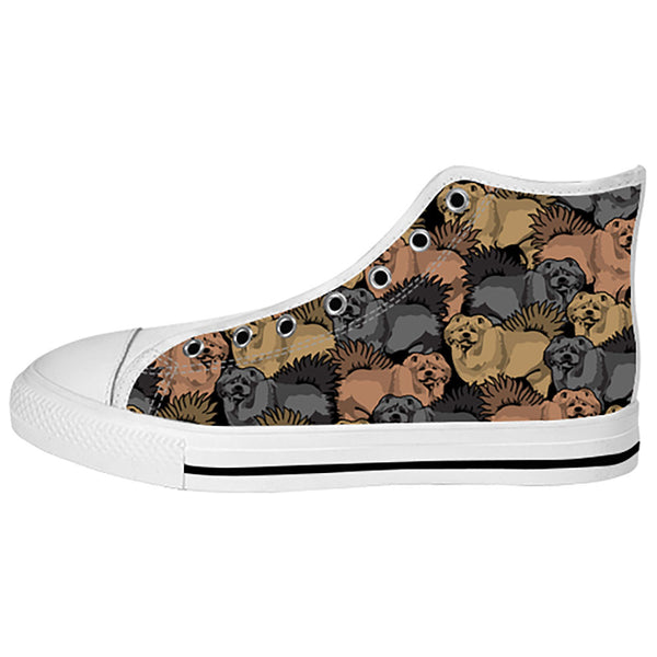 Chow Chow Shoes & Sneakers - Custom Chow Chow Canvas Shoes - TeeAmazing - 2