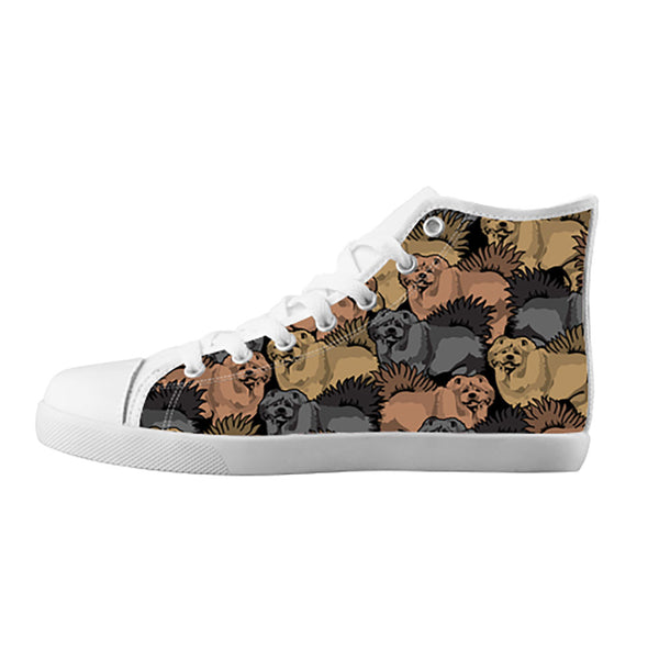 Chow Chow Shoes & Sneakers - Custom Chow Chow Canvas Shoes - TeeAmazing - 5