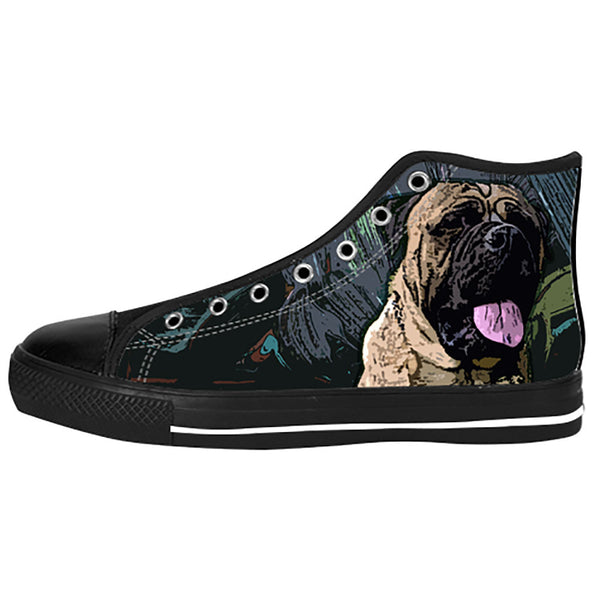Bullmastiff Shoes & Sneakers - Custom Bullmastiff Canvas Shoes - TeeAmazing - 1