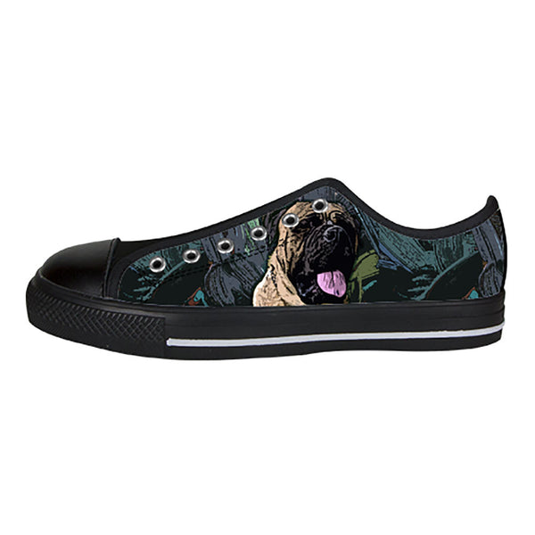 Bullmastiff Shoes & Sneakers - Custom Bullmastiff Canvas Shoes - TeeAmazing - 3