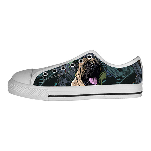 Bullmastiff Shoes & Sneakers - Custom Bullmastiff Canvas Shoes - TeeAmazing - 4