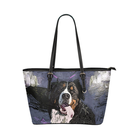 Bernese Mountain Tote Bags - Bernese Mountain Bags - TeeAmazing