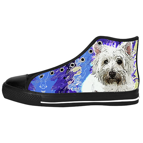 West Highland White Terrier Shoes & Sneakers - Custom West Highland White Terrier Canvas Shoes - TeeAmazing - 1