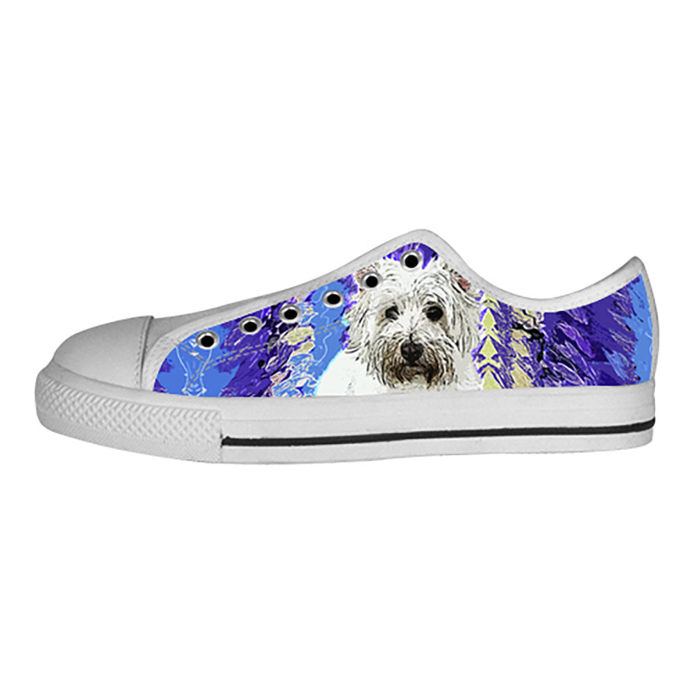 West Highland White Terrier Shoes & Sneakers - Custom West Highland White Terrier Canvas Shoes - TeeAmazing - 4