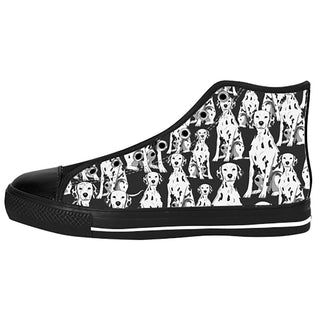 Dalmatian Shoes & Sneakers - Custom Dalmatian Canvas Shoes - TeeAmazing
