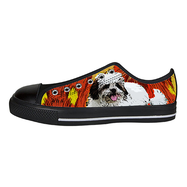 Lhasa Apso Shoes & Sneakers - Custom Lhasa Apso Canvas Shoes
