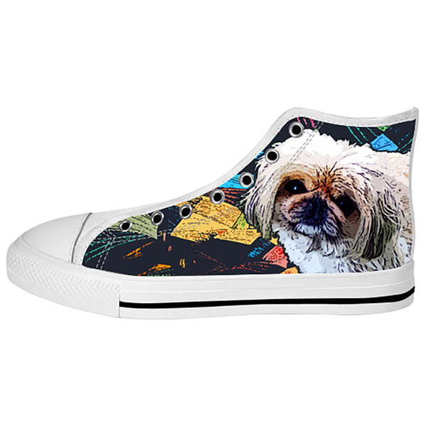 Pekingese Shoes & Sneakers - Custom Pekingese Canvas Shoes - TeeAmazing - 2