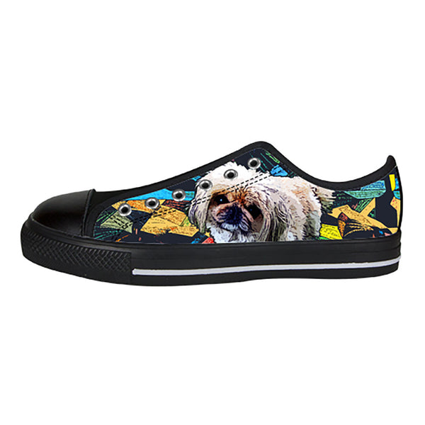 Pekingese Shoes & Sneakers - Custom Pekingese Canvas Shoes - TeeAmazing - 3