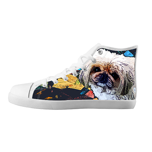 Pekingese Shoes & Sneakers - Custom Pekingese Canvas Shoes - TeeAmazing - 5