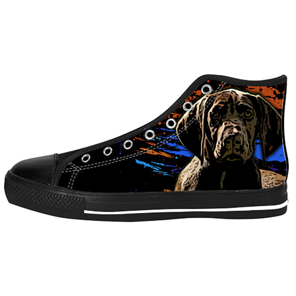 German Shorthaired Pointer Shoes & Sneakers - Custom German Shorthaired Pointer Canvas Shoes - TeeAmazing - 1
