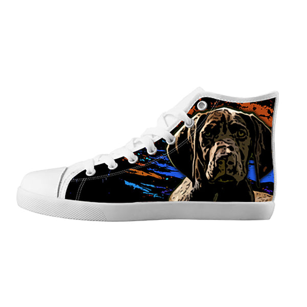 German Shorthaired Pointer Shoes & Sneakers - Custom German Shorthaired Pointer Canvas Shoes - TeeAmazing - 5