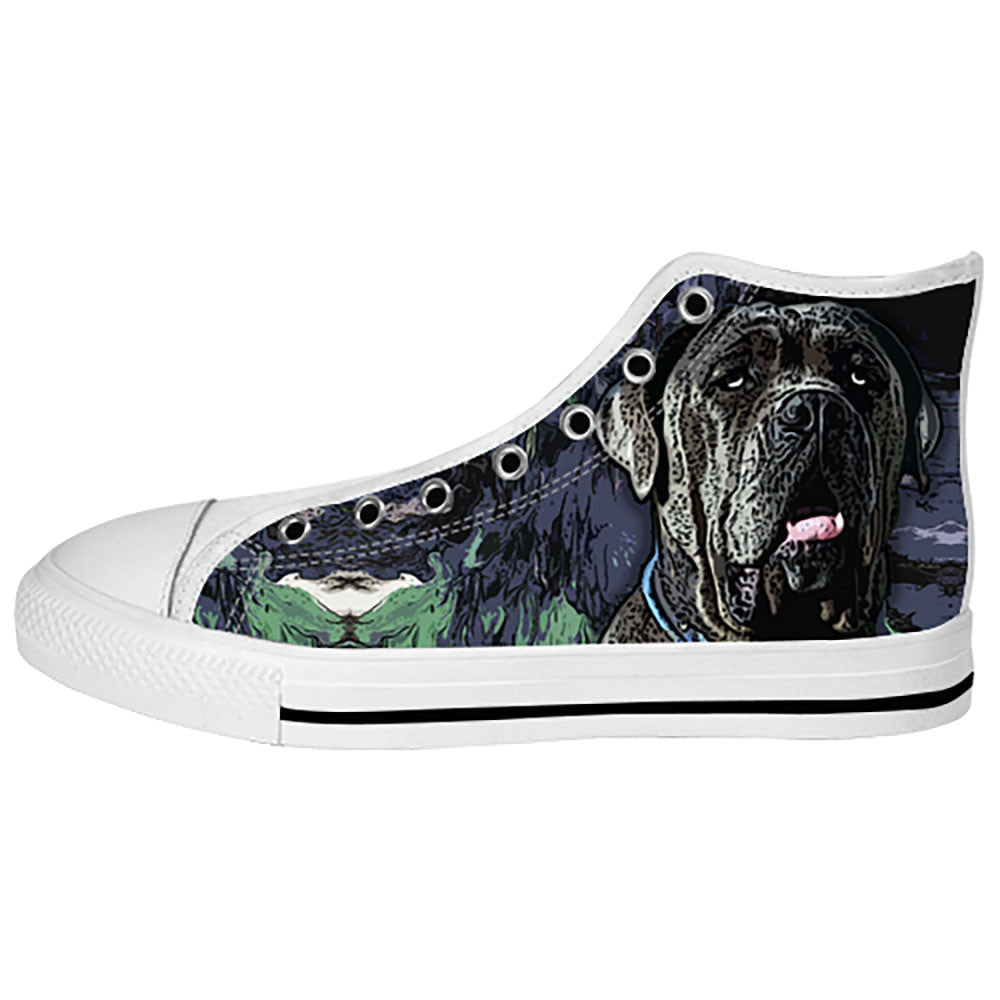 Neapolitan Mastiff Shoes & Sneakers - Custom Neapolitan Mastiff Canvas Shoes - TeeAmazing