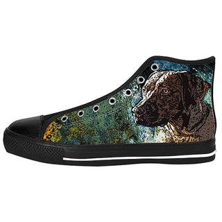 Rhodesian Ridgeback Shoes & Sneakers - Custom Rhodesian Ridgeback Canvas Shoes - TeeAmazing