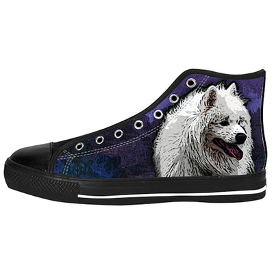 Samoyed Shoes & Sneakers - Custom Samoyed Canvas Shoes - TeeAmazing