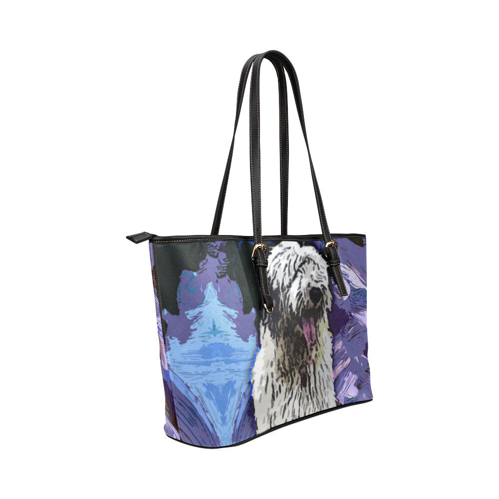 Old English Sheepdog Tote Bags - Old English Sheepdog Bags - TeeAmazing