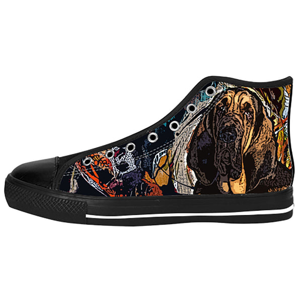 Bloodhound Shoes & Sneakers - Custom Bloodhound Canvas Shoes - TeeAmazing - 1