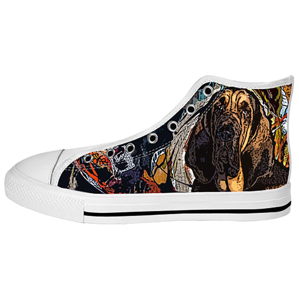 Bloodhound Shoes & Sneakers - Custom Bloodhound Canvas Shoes - TeeAmazing - 2