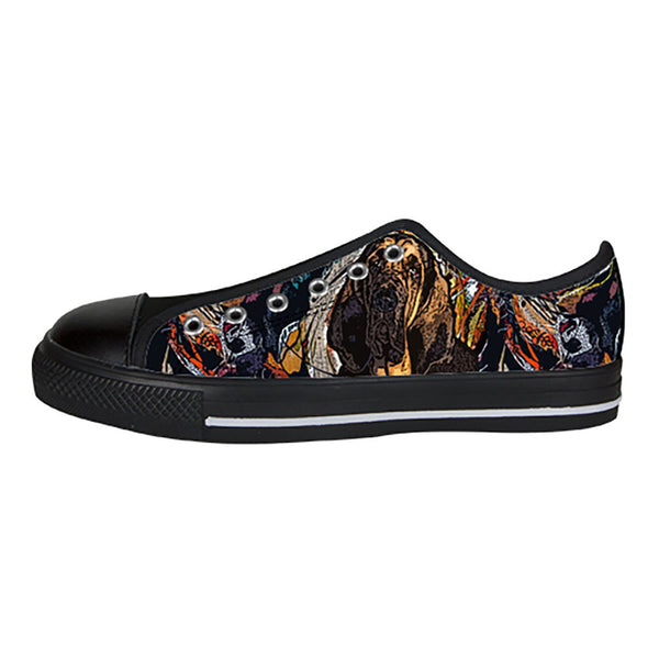 Bloodhound Shoes & Sneakers - Custom Bloodhound Canvas Shoes - TeeAmazing - 3