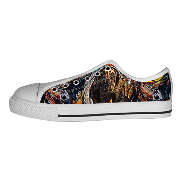 Bloodhound Shoes & Sneakers - Custom Bloodhound Canvas Shoes - TeeAmazing - 4