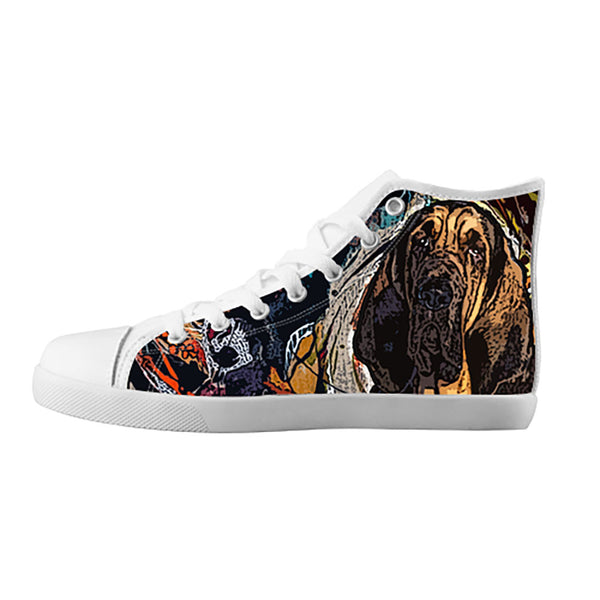 Bloodhound Shoes & Sneakers - Custom Bloodhound Canvas Shoes - TeeAmazing - 5