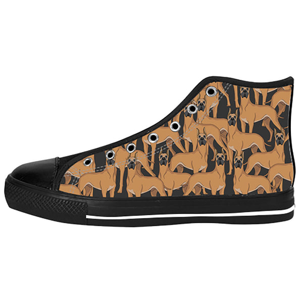 Great Dane Dogs Shoes & Sneakers - Custom Great Dane Canvas Shoes - TeeAmazing - 1