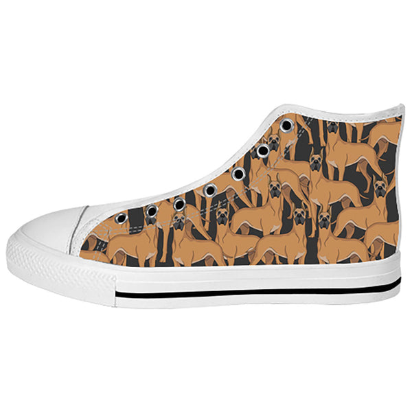 Great Dane Dogs Shoes & Sneakers - Custom Great Dane Canvas Shoes - TeeAmazing - 2