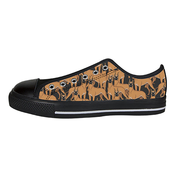 Great Dane Dogs Shoes & Sneakers - Custom Great Dane Canvas Shoes - TeeAmazing - 3