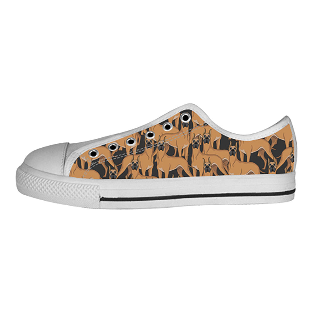 Great Dane Dogs Shoes & Sneakers - Custom Great Dane Canvas Shoes - TeeAmazing