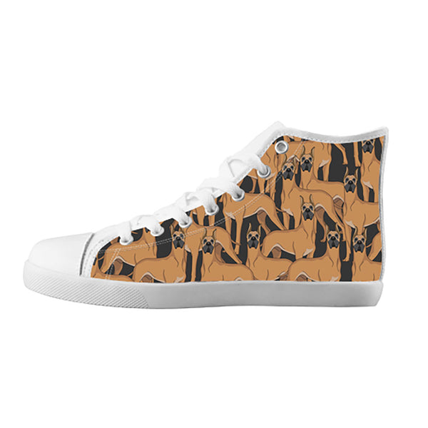 Great Dane Dogs Shoes & Sneakers - Custom Great Dane Canvas Shoes - TeeAmazing - 5