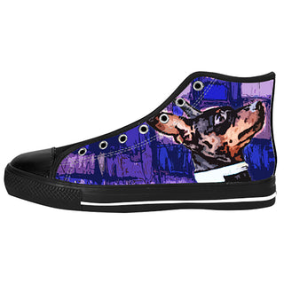 Miniature Pinscher Shoes & Sneakers - Custom Miniature Pinscher Canvas Shoes - TeeAmazing