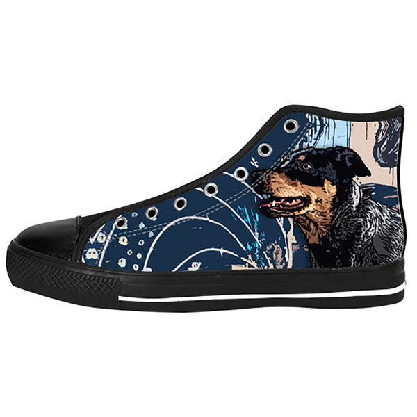 Australian Cattle Dog Shoes & Sneakers - Custom Australian Cattle Dog Canvas Shoes - TeeAmazing - 1