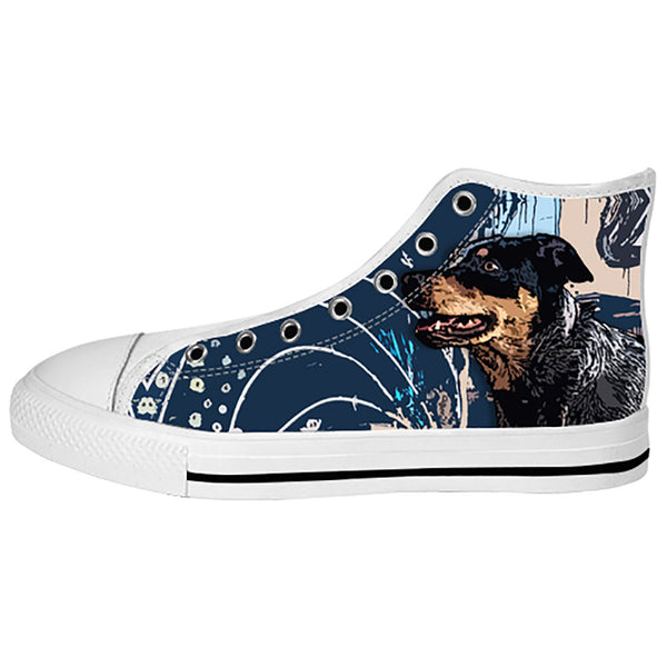 Australian Cattle Dog Shoes & Sneakers - Custom Australian Cattle Dog Canvas Shoes - TeeAmazing - 2