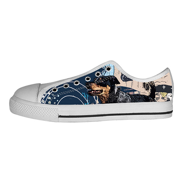 Australian Cattle Dog Shoes & Sneakers - Custom Australian Cattle Dog Canvas Shoes - TeeAmazing - 4