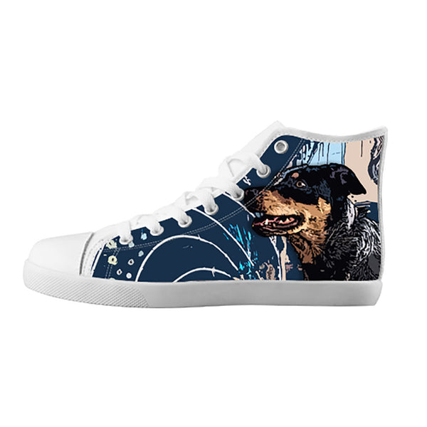 Australian Cattle Dog Shoes & Sneakers - Custom Australian Cattle Dog Canvas Shoes - TeeAmazing - 5