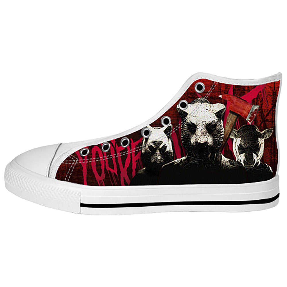 You're Next Shoes & Sneakers - Custom You're Next Canvas Shoes - TeeAmazing