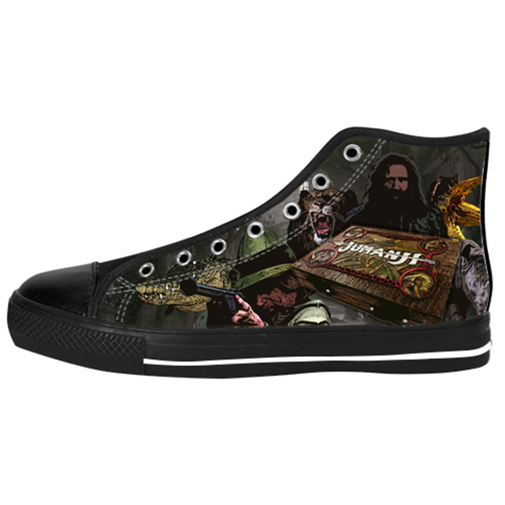 Jumanji Shoes & Sneakers - Custom Jumanji Canvas Shoes - TeeAmazing