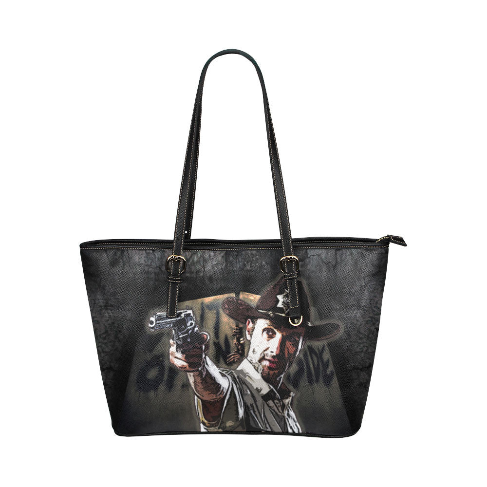 Rick Grimes Tote Bags - The Walking Dead Bags D1069457