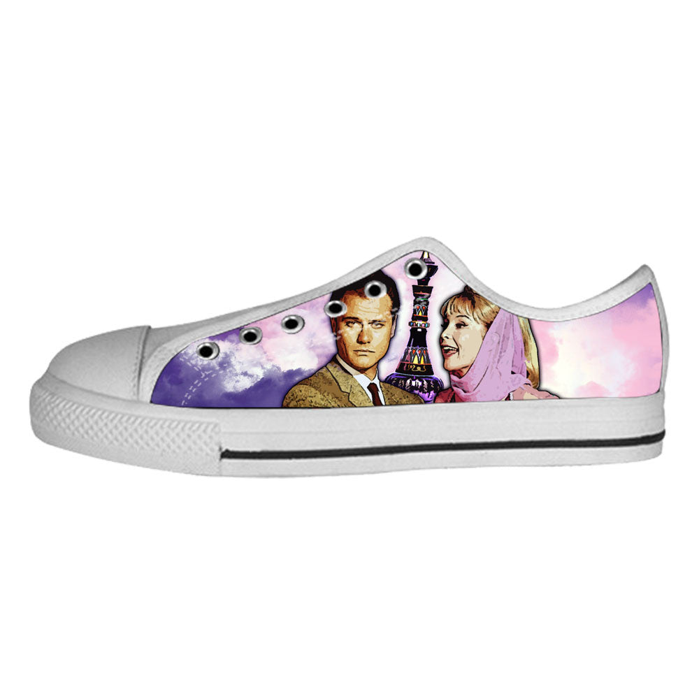 I Dream of Jeannie Shoes & Sneakers - Custom I Dream of Jeannie Canvas Shoes - TeeAmazing