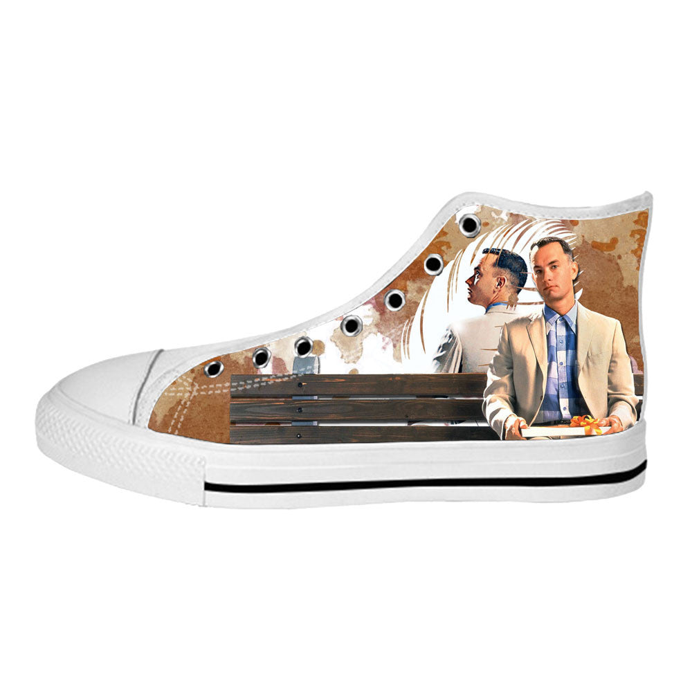Forrest Gump Shoes & Sneakers - Custom Forrest Gump Canvas Shoes - TeeAmazing