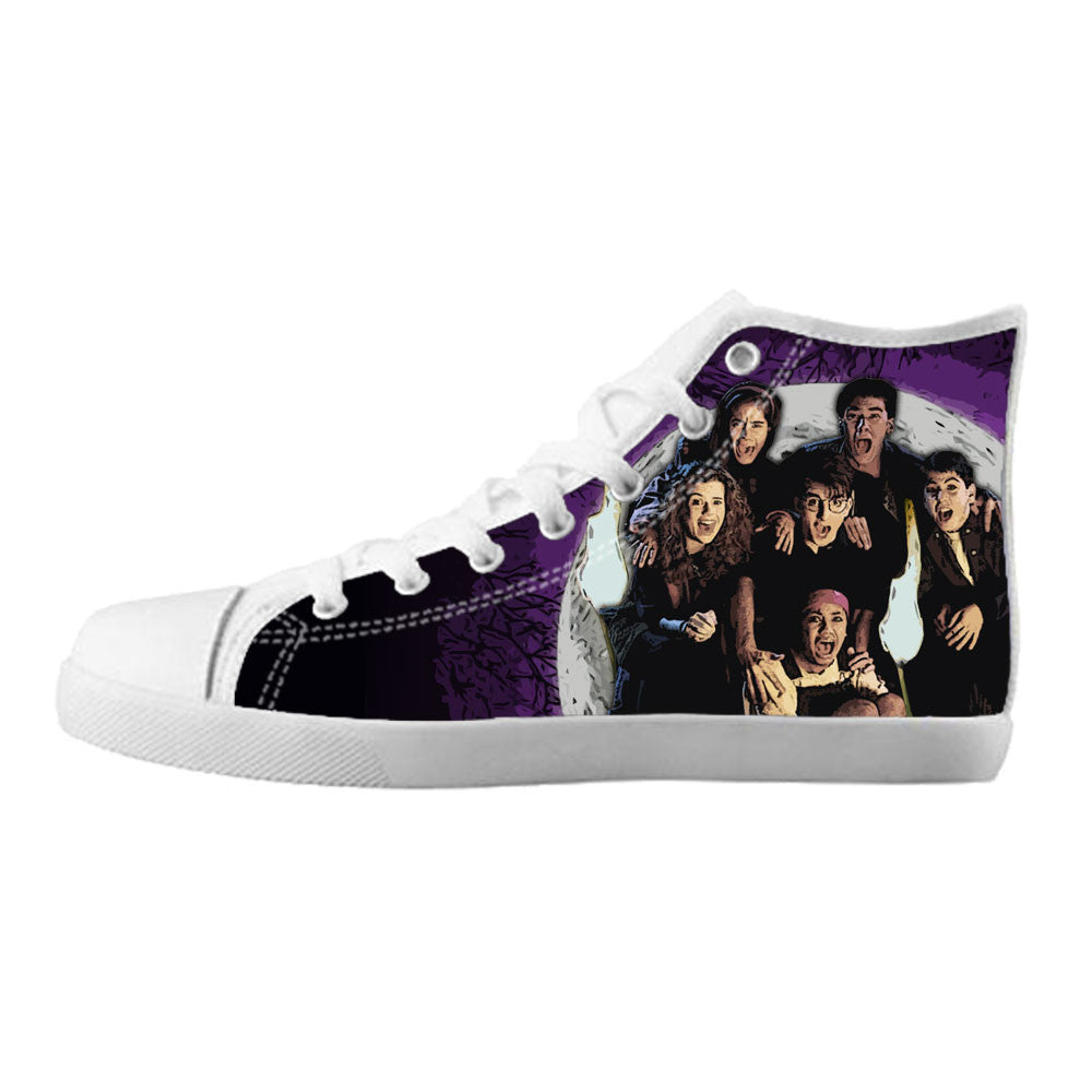 Are You Afraid of the Dark Shoes & Sneakers - Custom Are You Afraid of the Dark Canvas Shoes - TeeAmazing