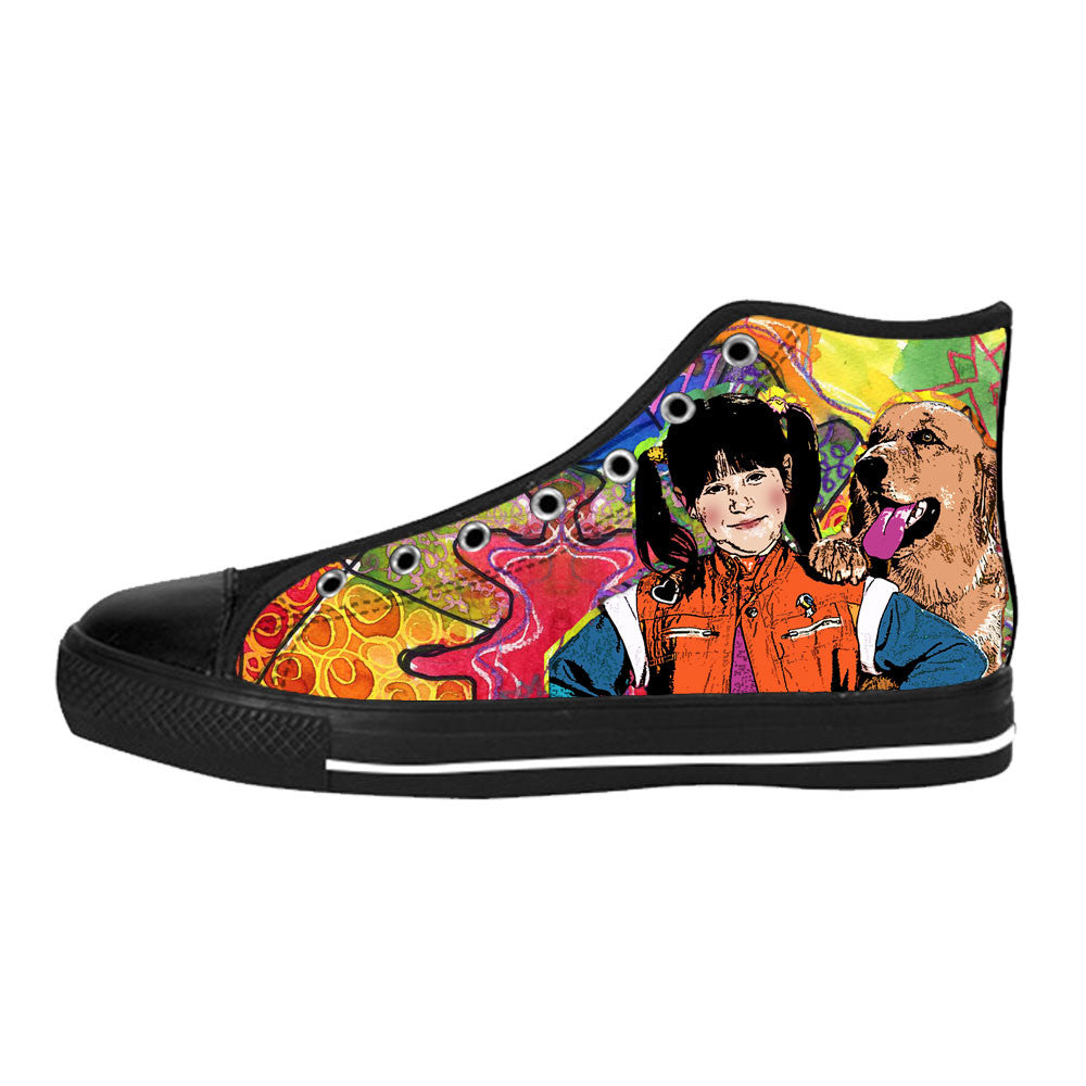 Punky Brewster Shoes & Sneakers - Custom Punky Brewster Canvas Shoes - TeeAmazing - 1
