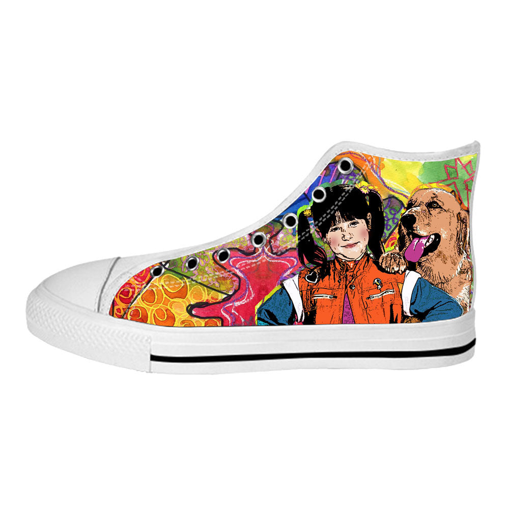 Punky Brewster Shoes & Sneakers - Custom Punky Brewster Canvas Shoes - TeeAmazing - 2