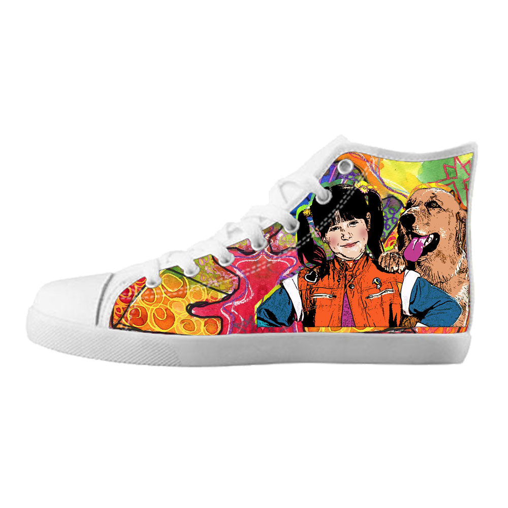 Punky Brewster Shoes & Sneakers - Custom Punky Brewster Canvas Shoes - TeeAmazing - 5
