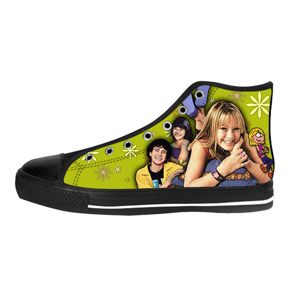 Lizzie McGuire Shoes & Sneakers - Custom Lizzie McGuire Canvas Shoes - TeeAmazing