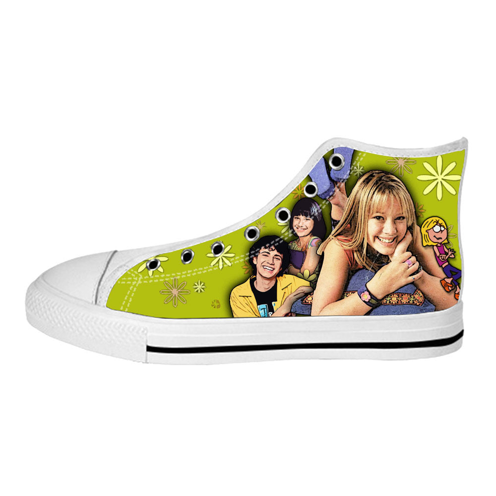 Lizzie McGuire Shoes & Sneakers - Custom Lizzie McGuire Canvas Shoes - TeeAmazing - 2