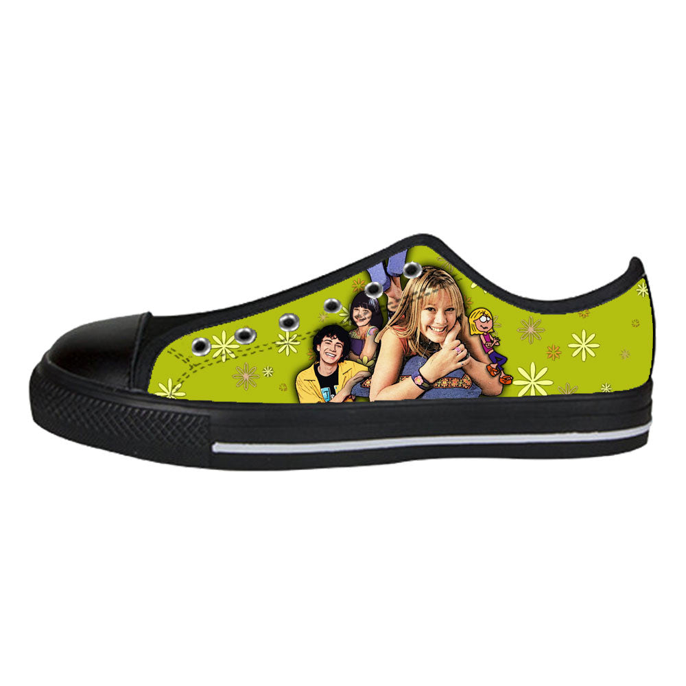 Lizzie McGuire Shoes & Sneakers - Custom Lizzie McGuire Canvas Shoes - TeeAmazing - 3