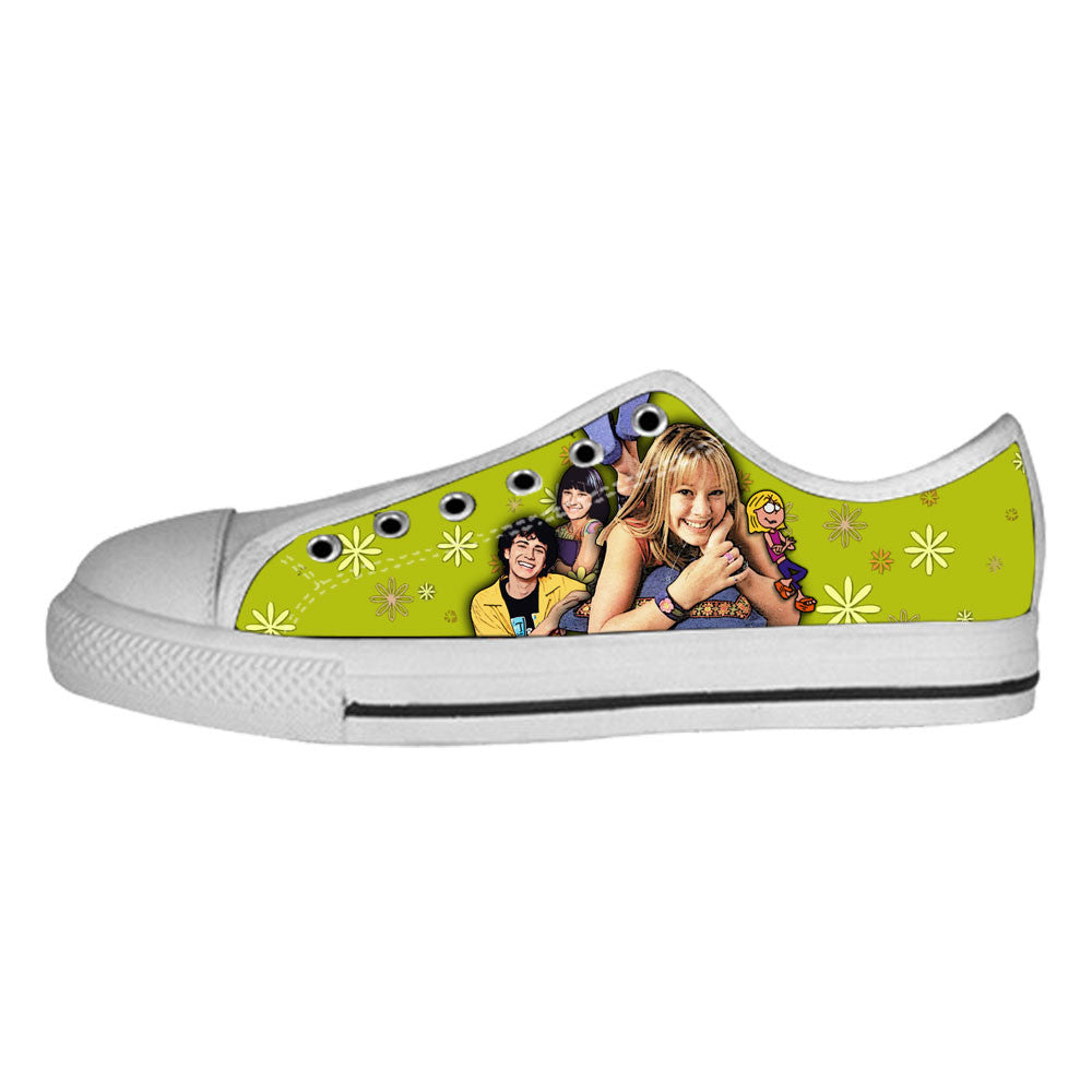 Lizzie McGuire Shoes & Sneakers - Custom Lizzie McGuire Canvas Shoes - TeeAmazing - 4