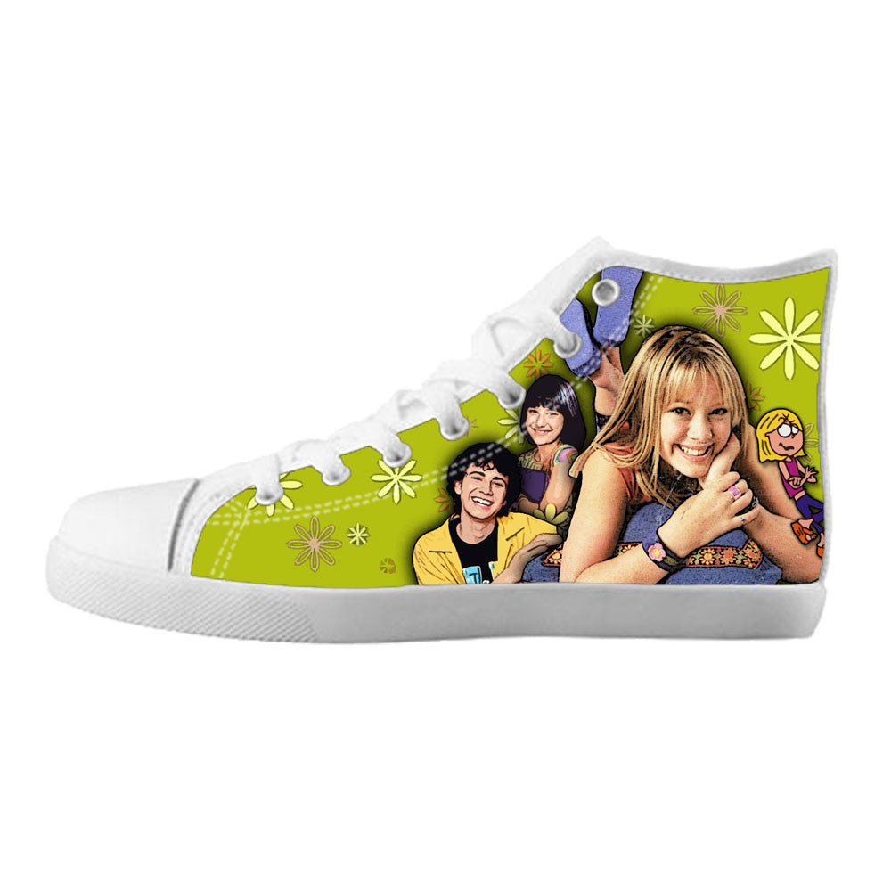 Lizzie McGuire Shoes & Sneakers - Custom Lizzie McGuire Canvas Shoes - TeeAmazing - 5